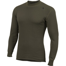 Aclima HotWool 230G/M2 T-shirt Manches longues Col ras-du-cou, olive night